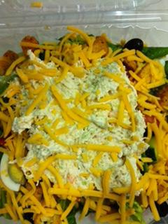 Senny's Salad w/ Chix Salad