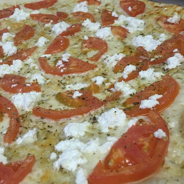 White with Tomato