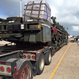 2015 - Umpositionierung Aircraft-Loader US-Army