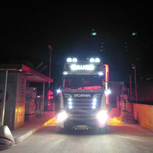 LKW - Nachtfahrt