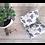 Bouillotte sèche Junô pliée par artisan créateur textile français Inspir'haies