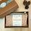 Coffret cadeau artisan créateur français en coton biologique teint à la main avec encres naturelles par Inspir'haies