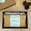 Petite bouillotte sèche Moosa par Inspir'haies en coton biologique teint de façon artisanale avec encres végétales