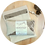 Bouillotte sèche Chestnut et son pochon en tissu Biologique par Inspir'haies