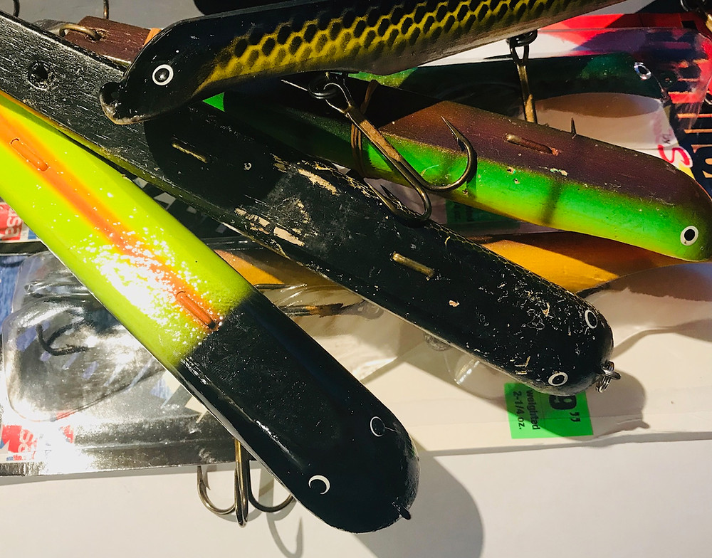 Tennessee Musky Suick lure