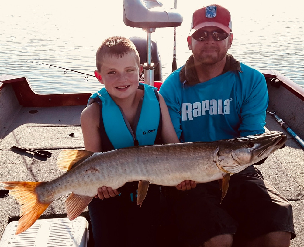 Melton Hill Muskie Fishing