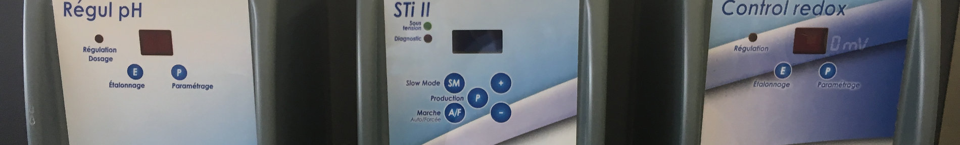 Traitement automatique de piscine irriPool