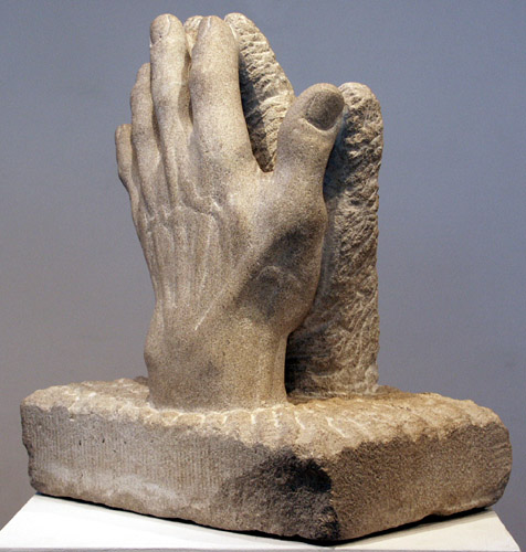 Praying Hands, Limestone