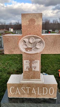 Castaldo Memorial, Granite