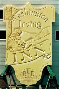 Washington Irving Inn, HDU (Before paint)