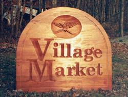 Village Market, Wood (Before paint)