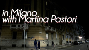 In Milano with Martina Pastori