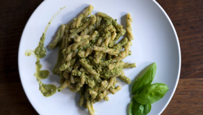 "Chef Panico's summer recipe:           ""Pasta con Pesto"""
