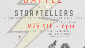 Battle of the Storytellers - Monday May 9th