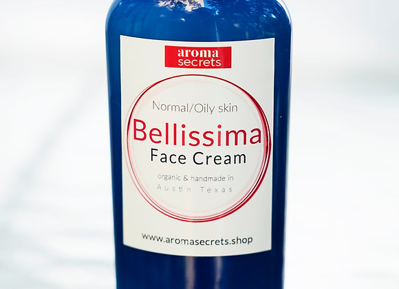 Bellissima Face Cream with CBD- in travel pack