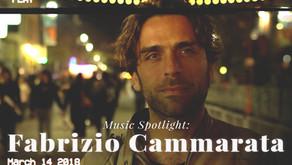 Music spotlight: Fabrizio Cammarata