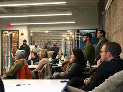 Bloomington Cohousing meeting