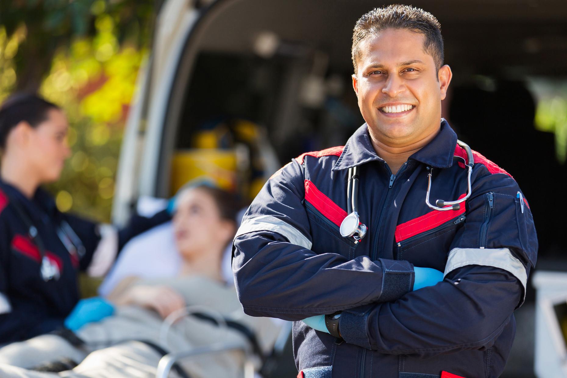 Happy Paramedic