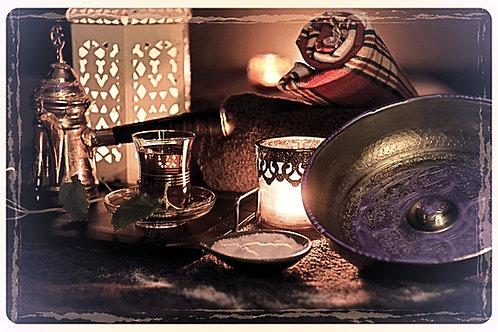 Rituale MARRAKESH con saune durata 3 ore