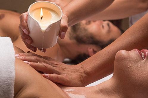 Relax Massage A La Bougie di coppia 30' o 50'