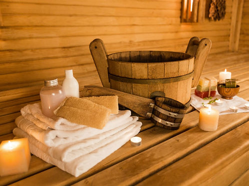 Termal CANDLE con saune Esclusive - durata 2 ore 15'