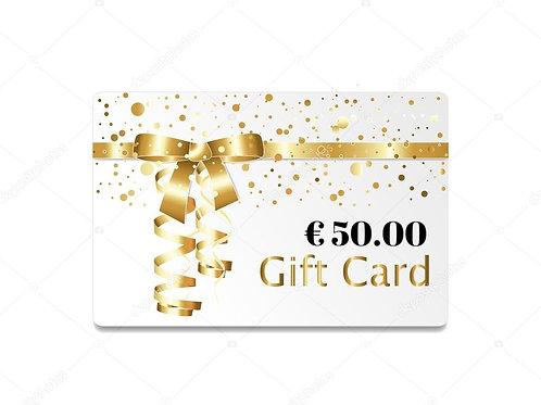Gift Card Lebestetik - Valore € 50