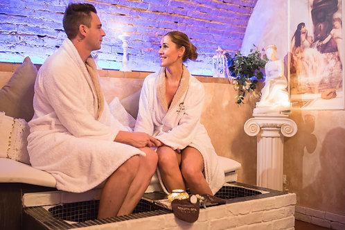 31/12 Exclusive Spa e Massaggio di coppia - 2ore