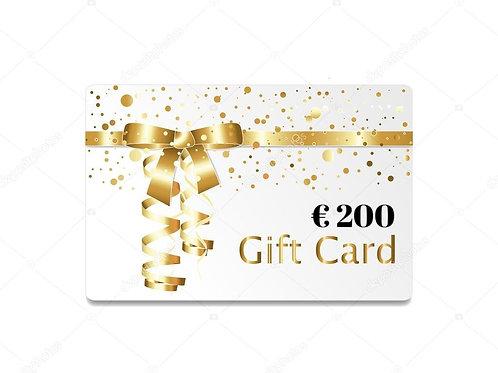 Gift Card Lebestetik - Valore € 200