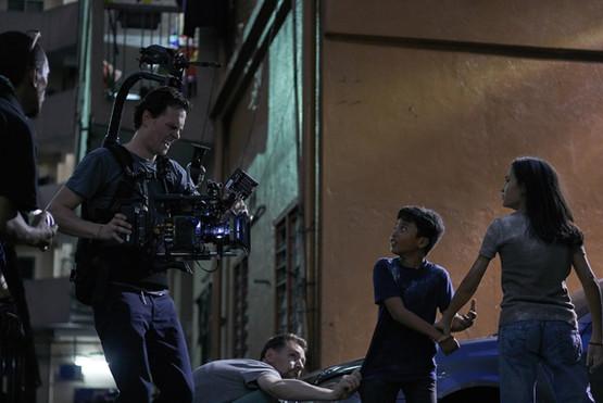 Oliver Spalding - Epoch - behind the scenes - shoot