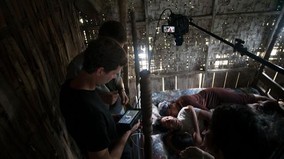 Novo Amor and Ed Tullett - Terraform - behind the scenes - shoot