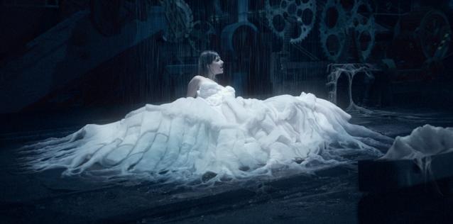 Lolly Jane Blue - White Swan - still