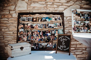 Chalk Board Sign and Photo Frame