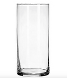 7.25in x 3.25in Small Glass Cylinder Vase