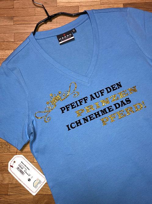 T-Shirt, V Ausschnitt