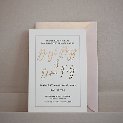 Decadent Wedding Stationery