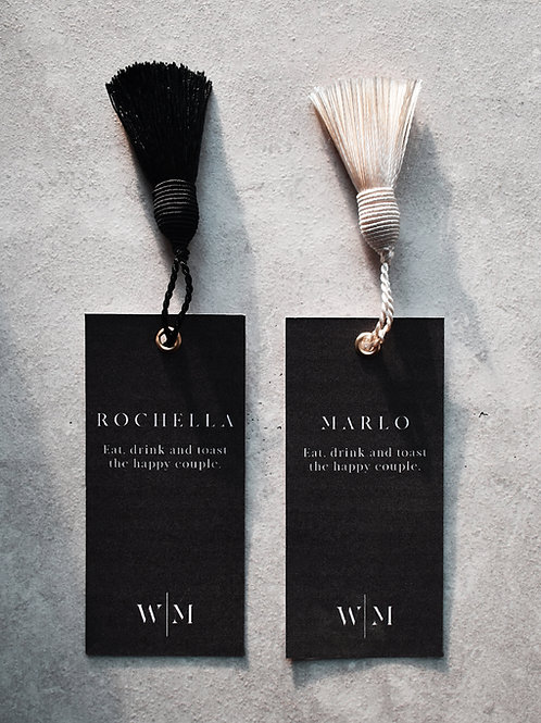 Tassel place cards