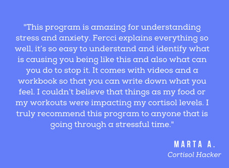 *NEW* Cortisol Hack Program ~ How to relief your stress and anxiety naturally