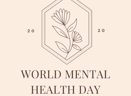 World Mental Health Day 2020 ~ Events, resources, support.
