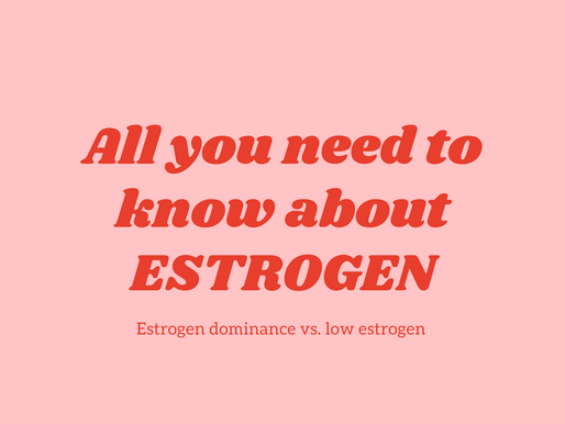 All you need to know about estrogen + QUIZ: Is your estrogen off balance?