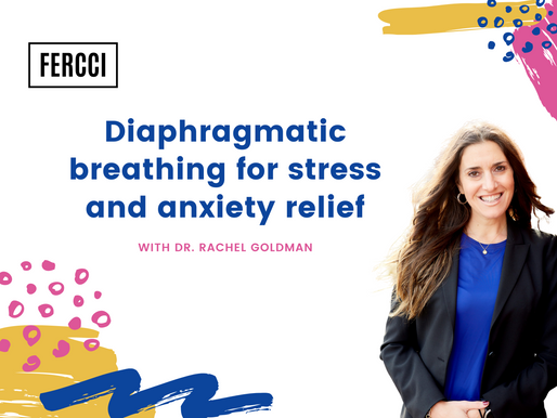 Learn how to breathe for anxiety and stress relief - Diaphragmatic Breathing Benefits