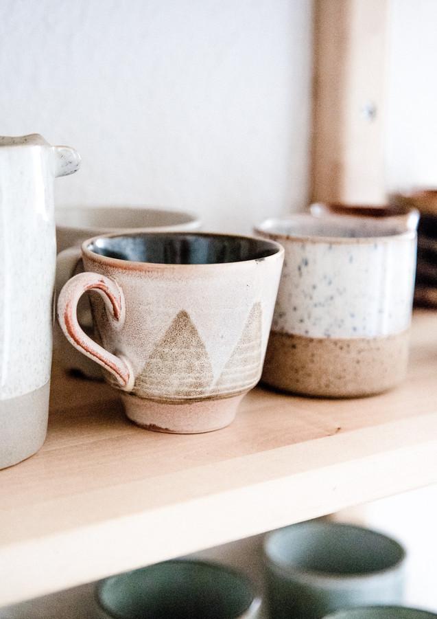 Küche mit Tassen