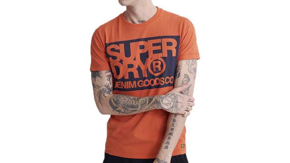 Superdry Denim Co Print T-Shirt