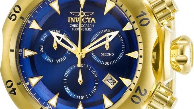 INVICTA Invicta Venom Chronograph Quartz Blue Dial Men's Watch 29643