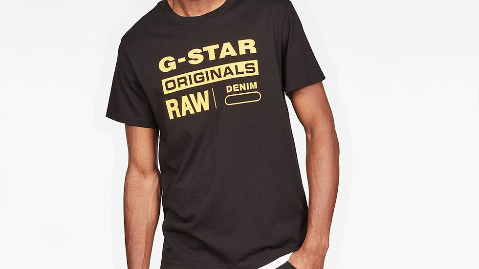 G-Star Graphic 8 Ribbed Neck