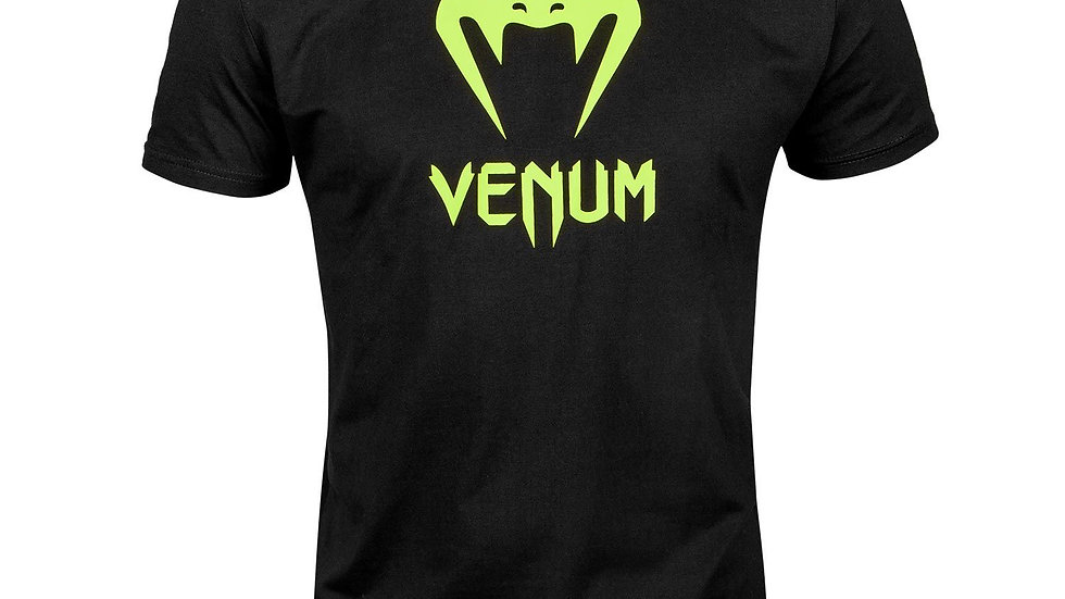 VENUM CLASSIC T-SHIRT - BLACK/NEO YELLOW
