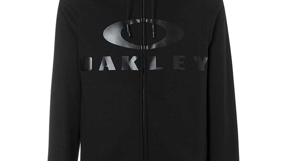Oakley Bark Zip Hoodie Black