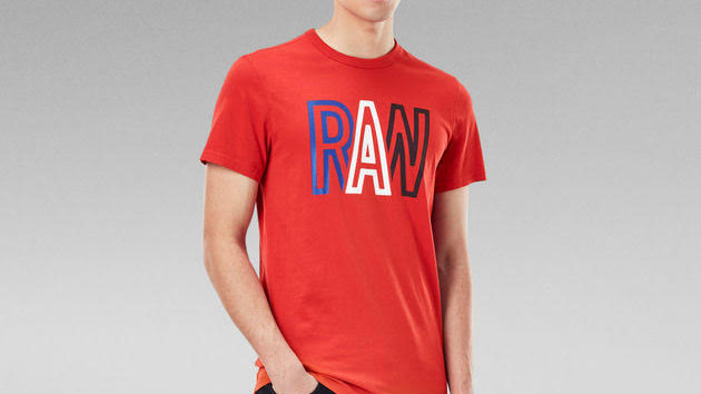 G-Star Raw T-Shirt Dark Candy