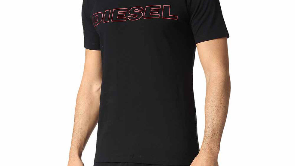 DIESEL- JAKE TEE SHIRT BLACK|RED