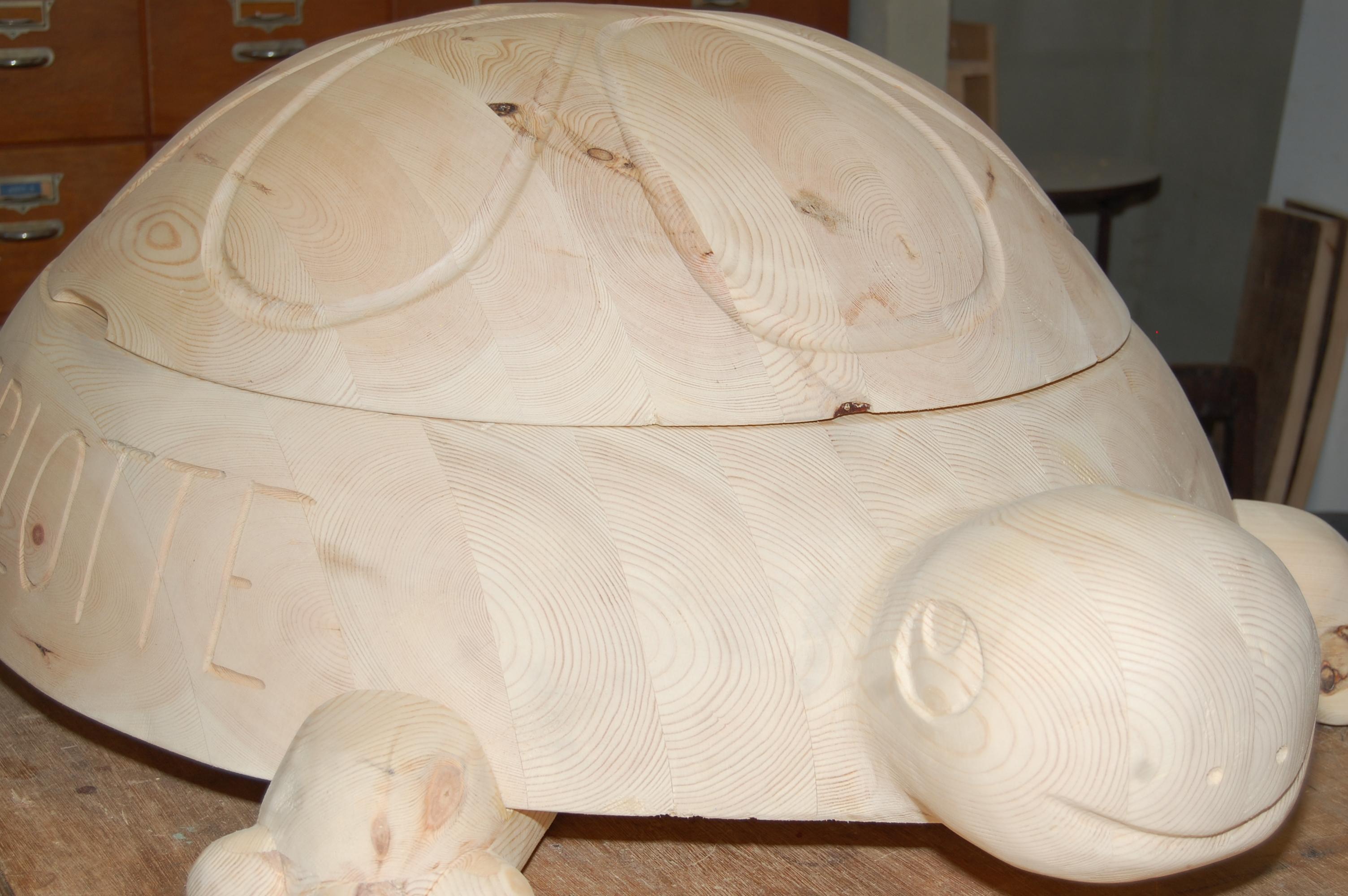 Schildpad speelgoedkoffer