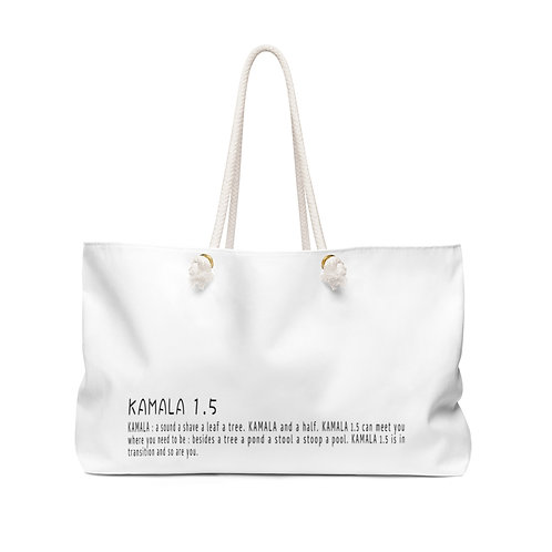 KAMALA 1.5 : weekender bag